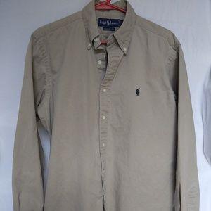 Ralph Lauren medium button up dress shirt